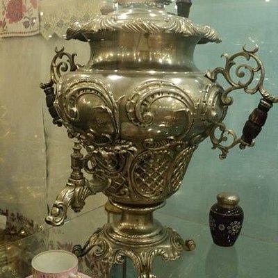 экспонат музея самовара в Касимове