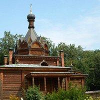 Храм Тихона Задонского с звонницей