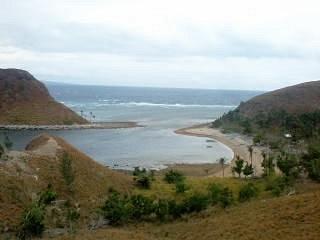 The lagoon in Malalison Island