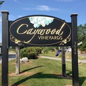 Caywood sign