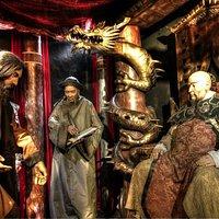 at Kublai Khan's court...