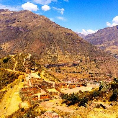 Temple area at Pisac.