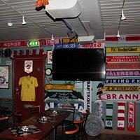bit of a football pub theme
