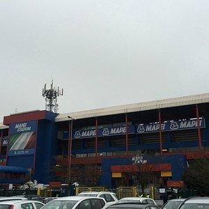Visuale esterna dello stadio