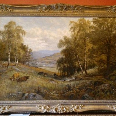 Scottish Victorian and Edwardian Art Specalists