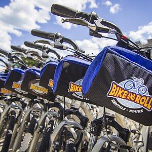 over 400 Trek Bikes in our fleet!