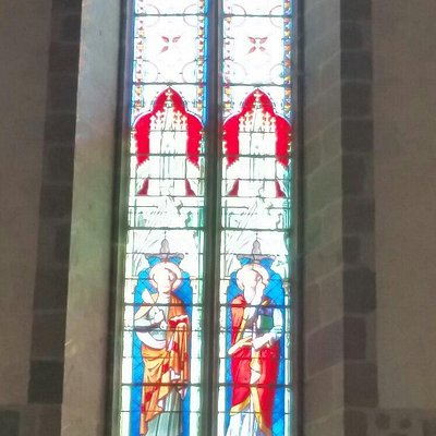 Stained glass windows in Ambazac