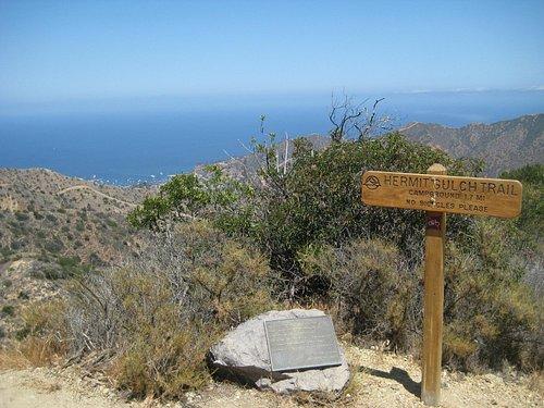 Hermit Gulch Trail summit