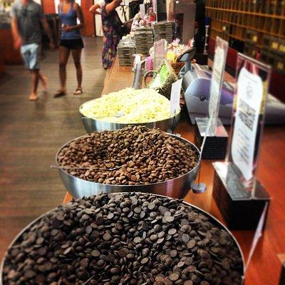 Free chocolate tasting bowls