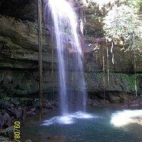 Cachoeira da Fazenda Ecológica