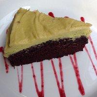Vegan chocolate and avocado cake