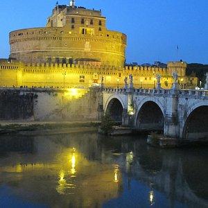 Castel Sant'Angelo, along the Tiber