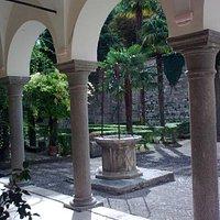 Pinacoteca Comunale San Severino, loggia and garden