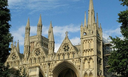 Peterborough Cathedral - Only minutes away