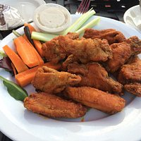 I can honestly say that these are some of the best buffalo wings I've ever had. They could've us