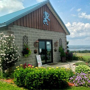 Front View of Tasting Room