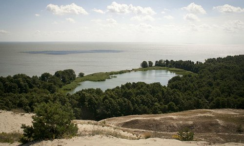 Озеро Лебедь, Калининград