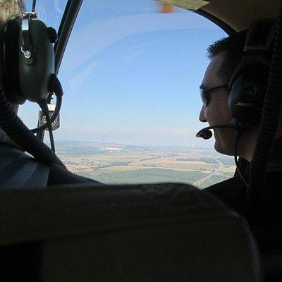 superbe vue merci au pilote