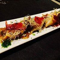 Calamares con jamón