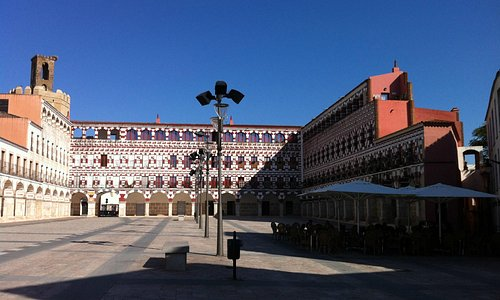 Plaza Alta, de dia