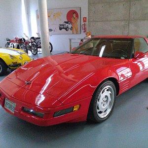 Ferrari del museo de automóviles antiguos