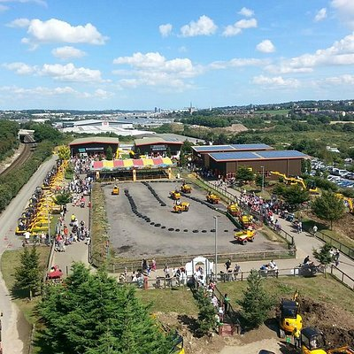 Diggerland Overview From the Lift