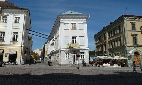 Das schiefe Haus von Tartu (Art Museum)