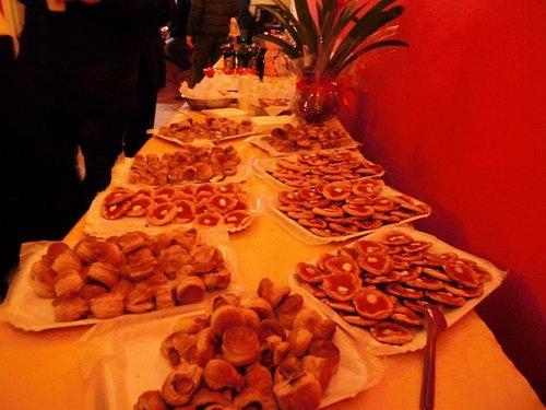 buffet per le feste