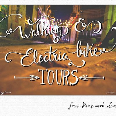 Walking & E-bike tours