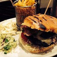 Double bacon cheese burger!!