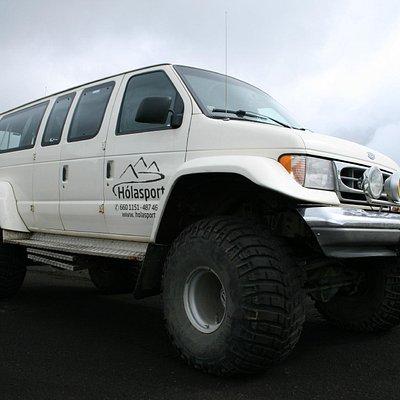 Laki 1 is a heavily modified super jeep