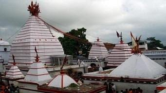 Bajunath temple view