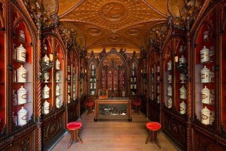 Panoramica antica farmacia Mazzolini Giuseppucci