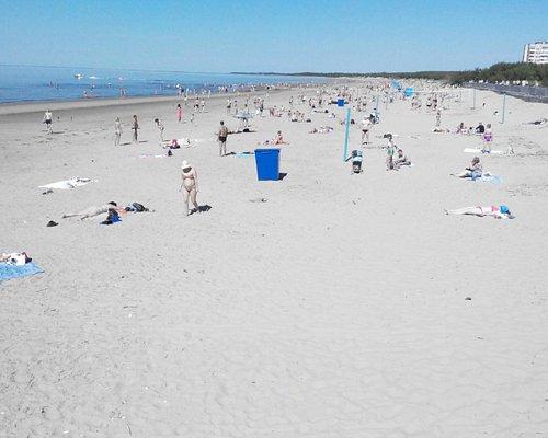 Пляж на о.Ягры (июль 2014)