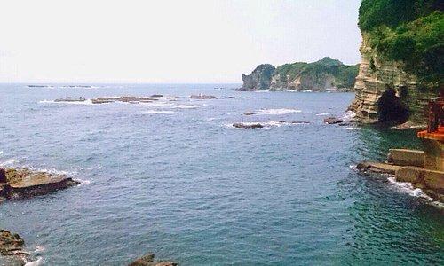 海中展望台近辺