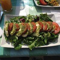 Tasty generous salad