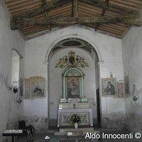 Interno della chiesa della Madonna delle Nevi