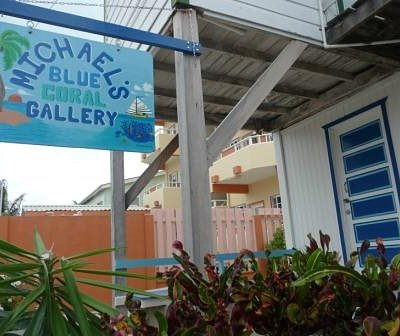 Welcome to Michael's Blue Coral Gallery