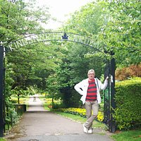 Jedna z bram prowadzacych do parku
