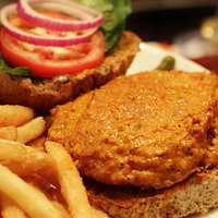 Buffalo Chicken Sandwich... our Monday night Special