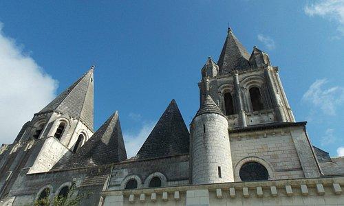 Collegiate Church Of Loches Saint Ours : Exterior