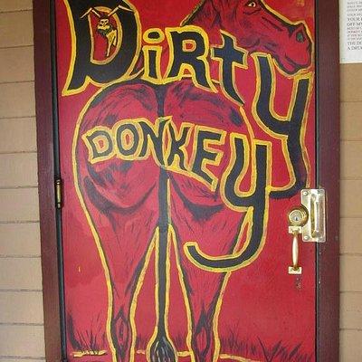 Door to bar