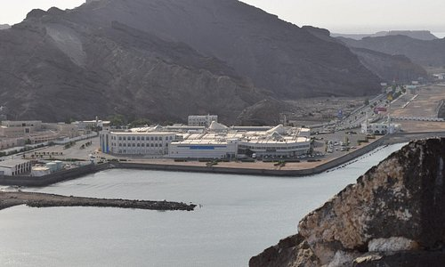 View for Aden Mall from Seerah Fortress