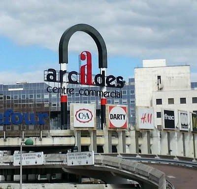 Centre commercial des Arcades de Noisy le Grand