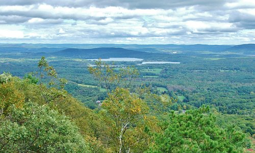 View of Twin Lakes Connecticut from Lions Head