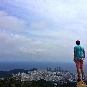the top of Jang Mountain.