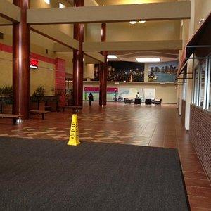 New mall entrance at Greece Ridge