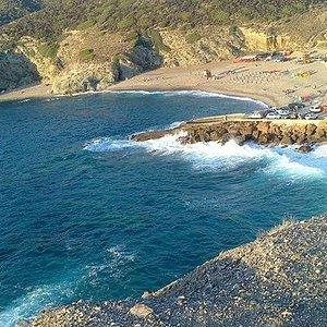 le due spiagge dell'argentiera