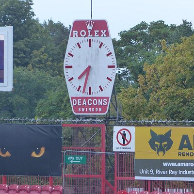 The County Ground and its Rolex clock