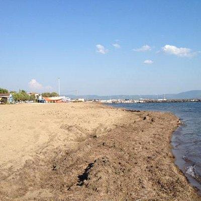 Kalloni beach is not very good